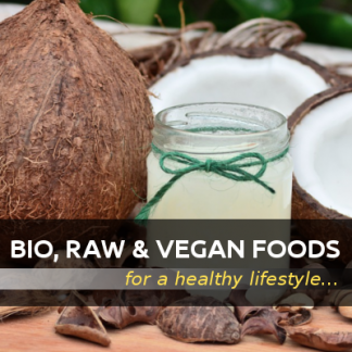 BIO, RAW & VEGAN Foods, Premium Quality